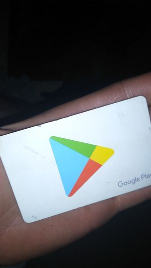 Google play card 80$ on it I'm asking for 60$ for Sale in Eagle Creek, OR