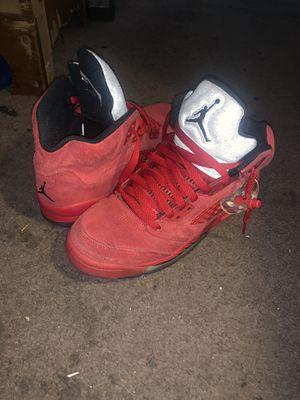 Air Jordan 5 Red Suede for Sale in EASTAMPTN Township, NJ