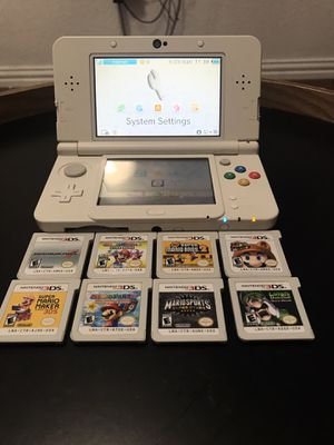 New Nintendo 3DS White Mario Edition for Sale in Dallas, TX