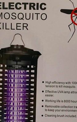 Bug Zapper Electric Mosquito Killer Powerful Flying Insect Killer Electronic Mosquito Attractant Trap Indoor, Bedroom, Kitchen, Office for Sale in St. Louis,  MO