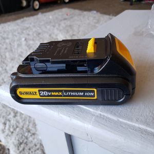 Dewalt 20v max brand new battery for Sale in Fontana, CA