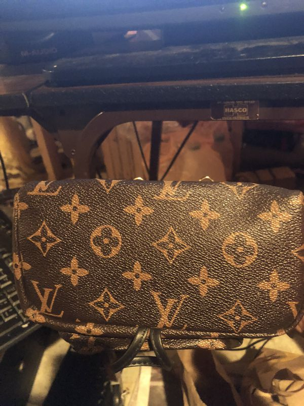 Louis Vuitton Palm Springs backpack & Wallet