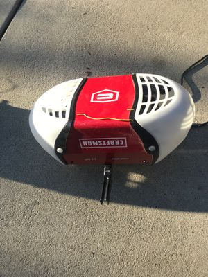 Craftsman garage door opener chain drive complete with two openers and key pad for Sale in Salt Lake City, UT