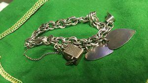 Sterling charm bracelet for Sale in Denver, CO