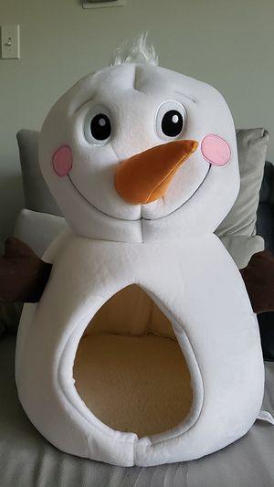 Snowman cat bed for Sale in Alexandria, VA