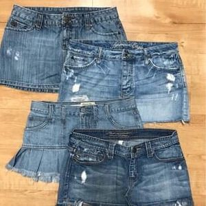 Assorted Blue Jean Skirts for Sale in Summerville, SC