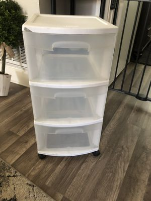 Storage 3-Drawers for Sale in San Jose, CA