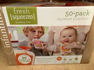 Squeeze baby food pouches for Sale in Stockton, CA