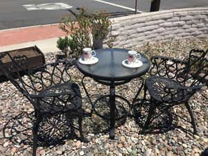Tea table furniture set for two for Sale in San Diego, CA