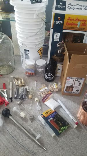 BEER- EVERYTHING YOU NEED TO BREW YOUR OWN for Sale in Blaine, MN