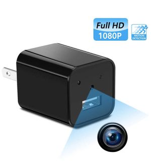 Mini Hidden spy Camera,Full HD 1080P Hidden spy Camera Charger with Video Record and Motion Detection for Home,Office Use | No Wi-Fi Needed for Sale in Barre, VT