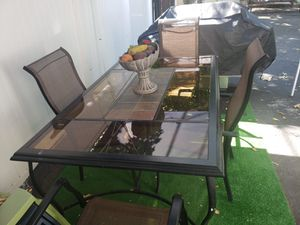 Patio table with 6 chairs for Sale in Lawrence, MA
