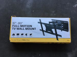 TV Wall Mount Full Motion for Sale in Moreno Valley, CA