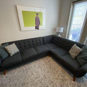 Gray Sectional for Sale in Atlanta, GA