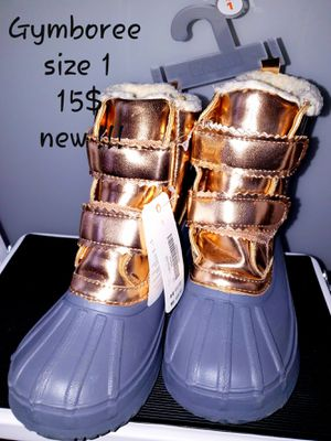 Girl snow boots size 1 Gymboree Nike children's place for Sale in Queens, NY