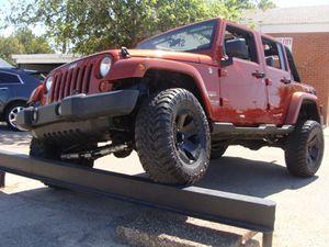 2009 Jeep Wrangler Unlimited for Sale in Haltom, TX