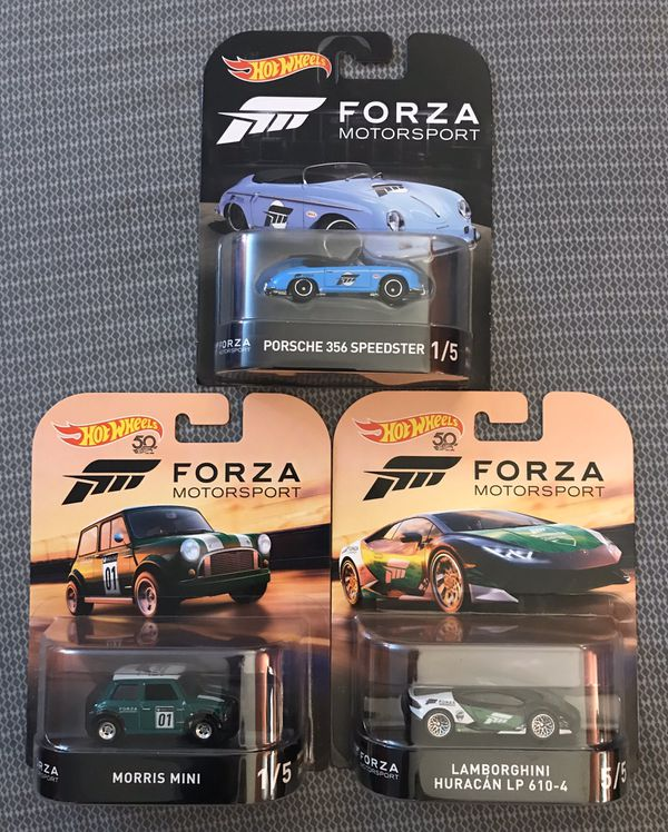 Hot Wheels Forza lot