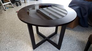 Wood and Glass Dinette Table for Sale in Mission Viejo, CA