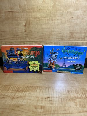 GOOSEBUMPS POSTCARD BOOKS 96' & 97' for Sale in Miramar, FL