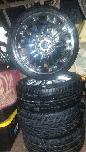 Set of 4 Tires and Wheels for Sale in San Diego, CA