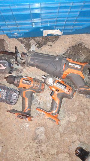 Ridged power tool set for Sale in Detroit, MI
