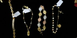 Rosary bracelet ,gold plate for Sale in Mount Prospect, IL