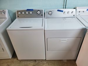 Kenmore energy star washer and dryer set 30 days warranty nice and clean tested and ready to go delivery available for a small trip charge for Sale in Boynton Beach, FL