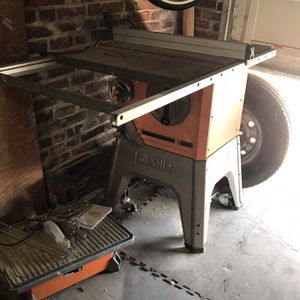 "Rigid 10"" Table Saw for Sale in Philadelphia, PA"