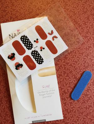 Beautiful Mickey Mouse Nail Wraps/Stickers for Sale in Elizabethton, TN
