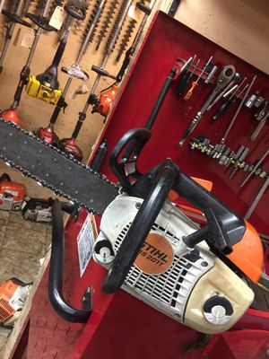 Gas powered chainsaw for Sale in Fountain Valley, CA