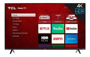 """TCL 43"""" CLASS 4-SERIES 4K UHD HDR ROKU SMART TV - 43S405 for Sale in Kissimmee, FL"""