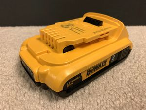 Brand new DEWALT 20V MAX Battery, Premium 2.0Ah (DCB203) for Sale in Arcadia, CA
