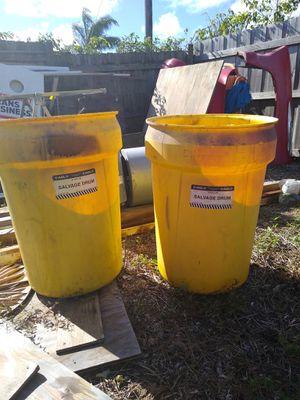 Heavy duty garbage drums for Sale in Riviera Beach, FL