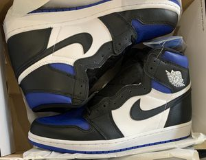 Jordan 1 royal toe for Sale in Chicago, IL
