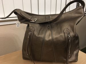 Linea Pelle large taupe leather hobo tote satchel purse bag for Sale in Clovis, CA
