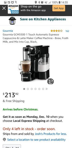 K-cup coffee/cappuccino maker for Sale in Belpre, OH
