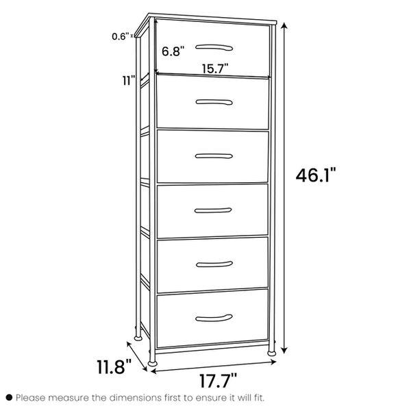 Crestlive Products 6-Drawers Storage