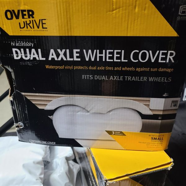 RV Trailer Tire Covers X 4 + Spare tire Cover