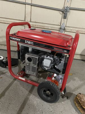 Brand new husky generator 3750 watts for Sale in Mount Holly, NJ
