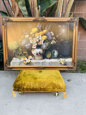 Oil painting Wall decor wood Frame for Sale in Pico Rivera, CA