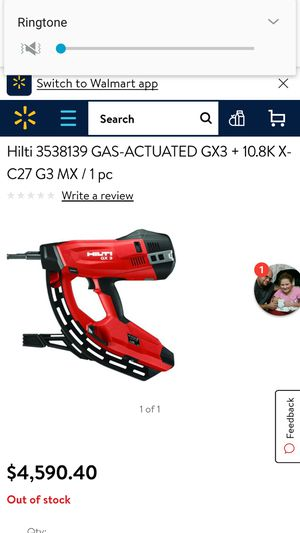 Hilti GX-3 gas Nailer for Sale in Renton, WA