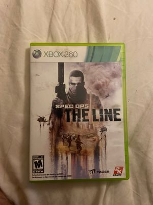 Spec ops the line Xbox 360 for Sale in Gilbert, AZ