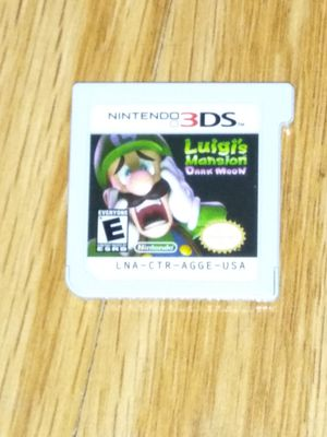 Luigi's Mansion Nintendo 3DS cartridge for Sale in Chicago, IL