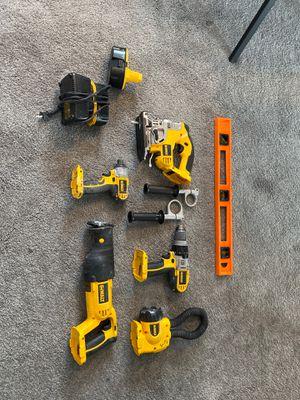 Dewalt 18v 5 Tool Set for Sale in Las Vegas, NV