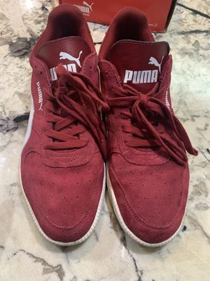 Puma Icra Trainer Suede Classic Men's 12 Red & White New With Box Retro for Sale in Washington, DC