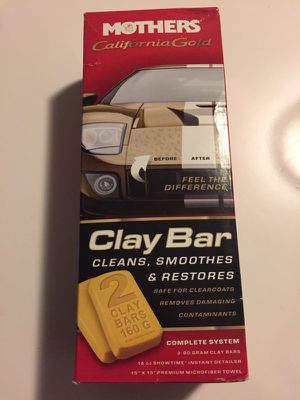 Mothers Clay Bar and auto detailer for Sale in San Francisco, CA