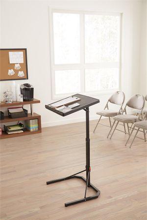 Multi-Functional Adjustable Personal Folding Table, Black for Sale in Alexandria, VA