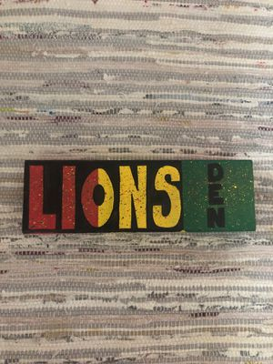 Rasta Lions Den Painting for Sale in Davidson, NC