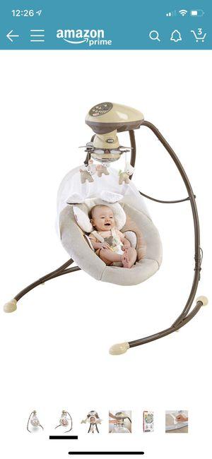 Fisher-Price My Little Snugapuppy Cradle n Swing for Sale in Los Angeles, CA