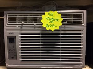 12,000BTU Window AC unit with warranty for Sale in Pineville, NC